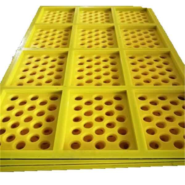 Quality Tensioned PU Screen Panels for sale