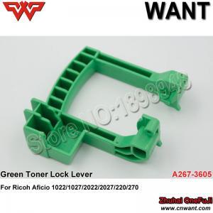 China A2673605 A267-3605 Green Toner Lock Lever for Ricoh AF1022 AF1027 AF2022 AF2027 AF220 AF270 Toner Supply Unit Cam Handle on sale