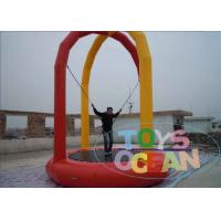 China Single Person Soft Inflatable Sport Game Bungee Jumping for Amusement wholesale
