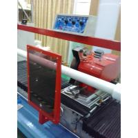 China CNC Half Broken / Full Broken Rotary Slitting Machine For Tempered Glass AB Glue wholesale