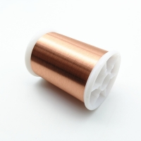 China Polyurethane 0.012mm Class 155 Super Thin Copper Winding Wire For Quartz Watch Coils wholesale