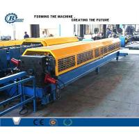 China Tube Roll Former Downpipe Roll Forming Machine With Double Head Decoiler wholesale