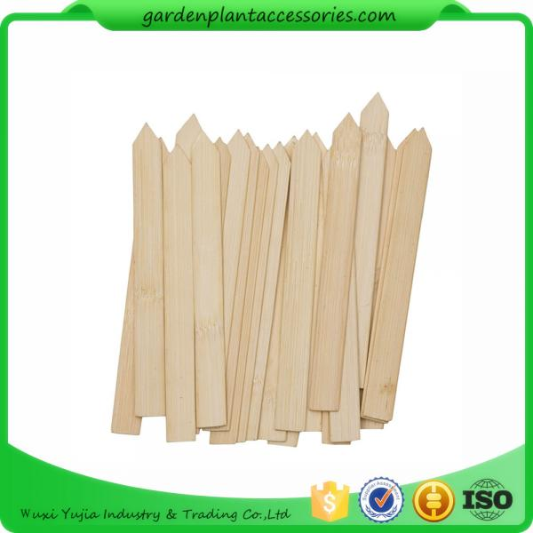 Quality Bamboo Garden Plant Markers , Garden Plant Identification Markers for sale
