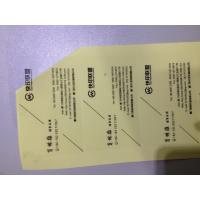 China Customize transparent business card lable sticker printing wholesale