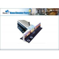 China Steel T Type Elevator Guide Rail , Machined Guide rails , Elevator Components on sale