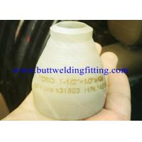 China Nickel Alloys Inconel 600 / 601 / 800 , Inconel 801 / 718  Stainless Steel Reducer 10x6 Con / Ecc on sale