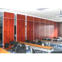 China Operable Plywood Soundproof Office Partition Walls 65 mm Thickness on sale