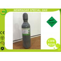 China 40L Cylinder Electronic Gases For Refrigerant Mixture / Eye Surgery , 2.2 Hazard Class wholesale