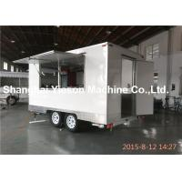 China Strong Fast Food Kitchen Street Food Vans Flooring Easy To Clean on sale