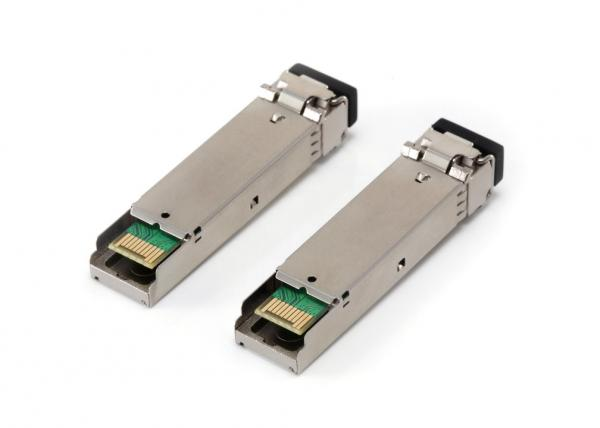 Quality 1.25Gb/s 850nm 0.5km SFP Optical Transceiver For Multi-mode Gigabit Ethernet for sale