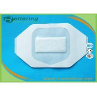 China Sterile Breathable Polyurethane Film Dressing , Surgical Wound Film Dressing wholesale