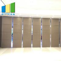 China Meeting Room Soundproof Movable Partition Door Suspend Acoustic Operable Wall on sale