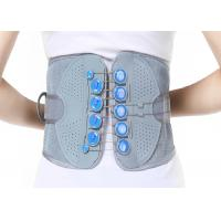 China Woven Fabric Waist Support Belt / Lumbar Support Brace Perfect Fit Body wholesale