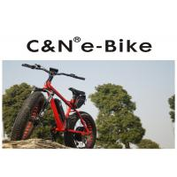 China DNM Front Fork Electric Fat Tire Snow Bike With Electric Motor 4 - 6 Hours Charging Time wholesale