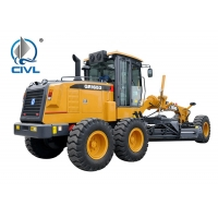 China 15000kg SHMC Motor Graders GR165 with D6114 Engine , Yellow Or Other Color You Want wholesale