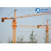 5 Ton Cat Head Tower Crane with Wire Rope / Hydraulic Cylinder / Limit Switch