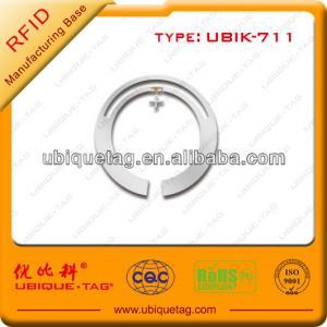 China Round 24mm passive uhf RFID label tags on sale