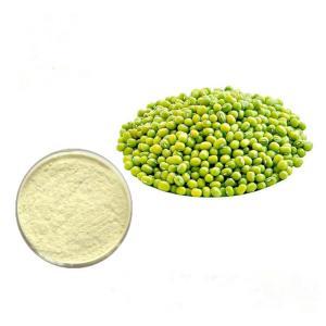 China Anti - Inflammatory Natural Food Pigments Mung Bean Peptide Powder 80% on sale