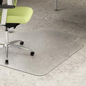 China Non Studded Anti-Slip Chair Floor Mats wholesale