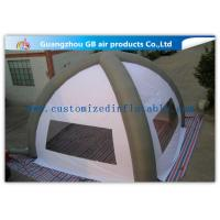 China White 8m Classic Inflatable Air Tent Spider Dome Inflatable Tent With Air Columns for Events wholesale