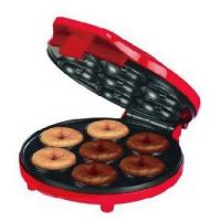 China 700W Easy Using Electric Snack Maker Red Color For Making 7 Mini Donut wholesale