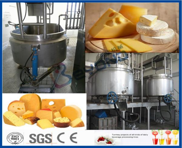Quality 200 - 50000LPD Turn Key Project Cheese Making Equipment with Plastic Bottle Package for sale