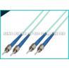 China Avances optiques de correction de fibre de veste du jaune OFNR de duplex de câbles de correction de fibre d'OS2 LC RPA wholesale