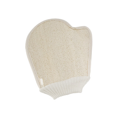 Quality Home Loofah Body Scrubbing Gloves Exfoliating Shower Mitt 23x16 cm for sale