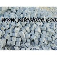 Quality Granite cobble and cube for sale
