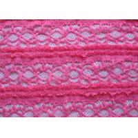 China Crocheted Stretch Lace Fabric wholesale