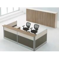 Buy cheap office wooden reception desk information desk furniture from wholesalers