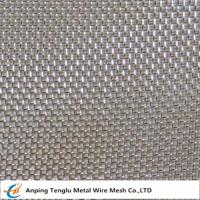 China Stainless Steel Square Wire Mesh Cloth|By SUS302/304/316 with Square Opening Pattern wholesale