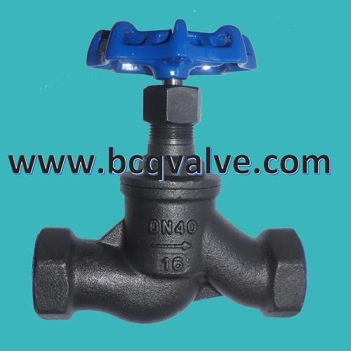 Quality inside screw carbon steel globe valve for sale