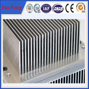 China Aluminium industrial profile extrusion, Aluminium fin radiator, aluminium heat sink wholesale