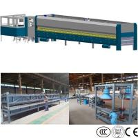China Glass Pot Cover Glass Edging Machine , Flat Bent Glass Tempering Machine,Glass Lid Tempering Furnace on sale