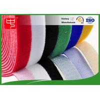 China Color Slitting Double Sided hook and loop Roll waterproof hook and loop tape Black / white wholesale