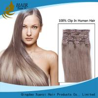 Buy cheap Double Pull Wholesale Factory Provides High Quality Remy Hair Clips Hair Extensions for Hair Extensions from wholesalers