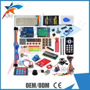 China New UNO R3 development board kit containing solderless breadboard, LCD1602, RFID module wholesale