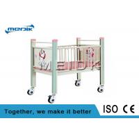 China Enameled Steel Side Rails Pediatric Hospital Beds Full Length Protection wholesale