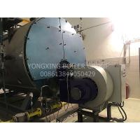 Buy cheap Hotel School Natural Gas Hot Water Furnace Three Return Fire Tube Steam Boiler from wholesalers
