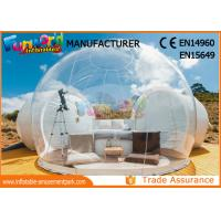 Buy cheap Outdoor Camping Bubble Tent Inflatable Igloo Tent Clear Dome Inflatable Tent from wholesalers
