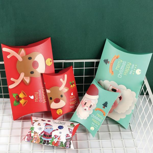 Quality Custom Foldable Christmas Gift Paper Bag Greeting Card Boxes for sale