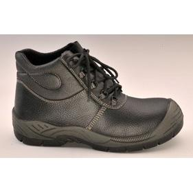 Quality Black Leather Safety Shoe (ABP1-5003) for sale