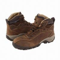 China Safety Boots with Composite Toe Cap, Kevlar Midsole and Nubuck Leather  wholesale