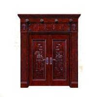China Guangzhou manufacture modern design interior luxury solid wood doors on sale