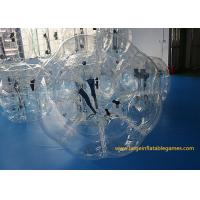China Durable 1.2m TPU inflatable bumper ball for adults , Inflatable Human Bubble For Kids wholesale