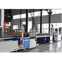 Buy cheap Full Automatic PVC WPC Board Production Line For Wood Plastic WPC Building Template from wholesalers