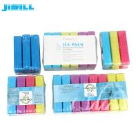 China Portable Blue  Mini Ice Packs Used In Frozen Food Fresh With Customized Packaging wholesale