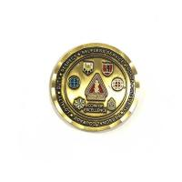 China Die Casting Process Military Challenge Coins / Army Ranger Challenge Coin wholesale