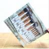 China Marble Makeup brush Set, Marble Makeup Brush Collection Set, Professional Cosmetic Brush Set wholesale